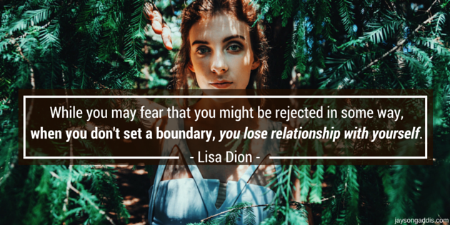 Boundaries – Relationship Tool With Lisa Dion – SC 40