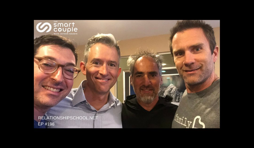 4 Men Discuss Love & The Path Of Personal Transformation – SC 198