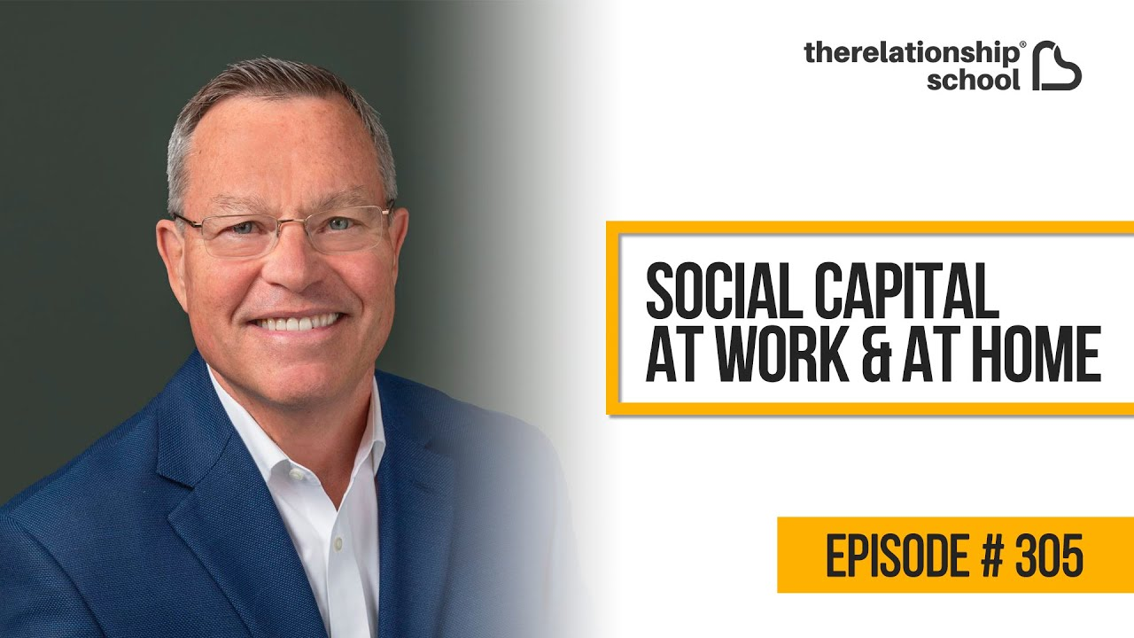 Social Capital  At Work & At Home – Dr. Wayne Baker, Ph.D. – 305