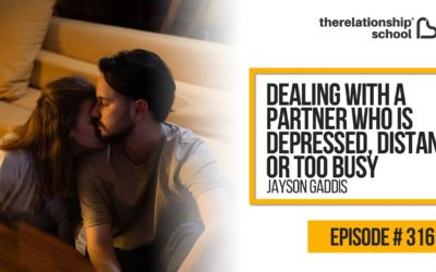 Dealing With A Partner Who Is Depressed, Distant, or Too Busy – Jayson Gaddis – 316