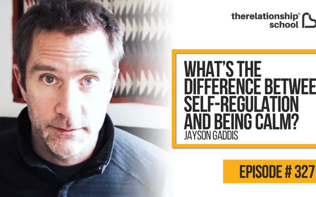 What's The Difference Between Self-Regulation And Being Calm? – Jayson Gaddis – 327